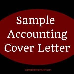 Cover letter of an accountant